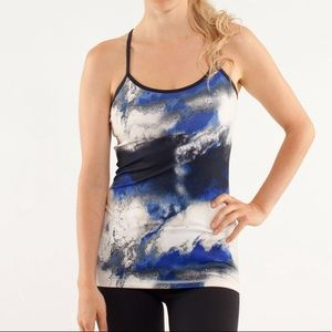 lululemon athletica Tops - Lululemon Power Y Tank in Milky Way